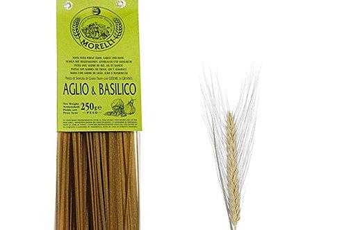 Linguine ail & basilic Morelli 250gr