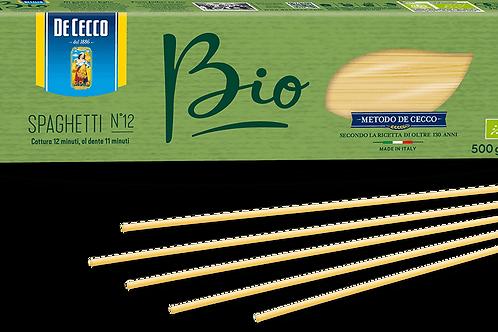 Spaghetti BIO Dececco 500gr