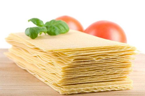 Pate à lasagne fraiche