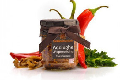 Anchois au piment 200gr