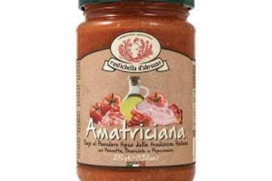 Sauce amatriciana 270gr