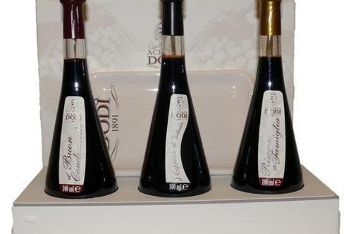 Coffret Vinaigre balsamique 5-10-15ans