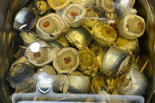 Involtini sardine/olive Italie