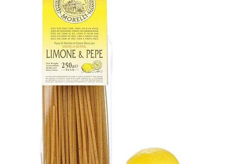 Linguine citron & poivre Morelli 250gr