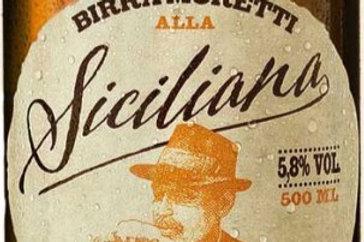 Bière Moretti Siciliana