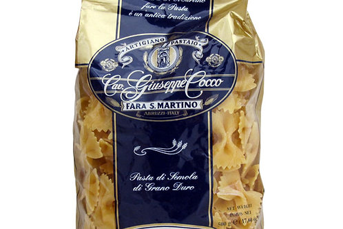 Farfalle Guiseppe Coco 500gr