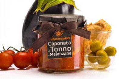 Caponata thon aubergines 300gr