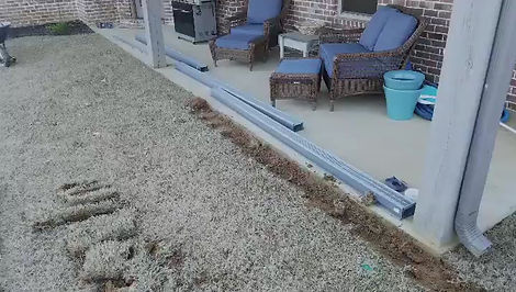Drainage Problem + McConnell Curb Appeal = Drainage Solution