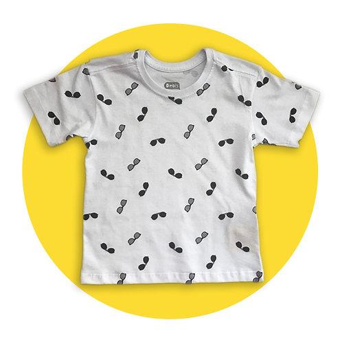 T-shirt Óculos