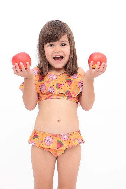 Biquini Ciganinha Frutas Vermelhas