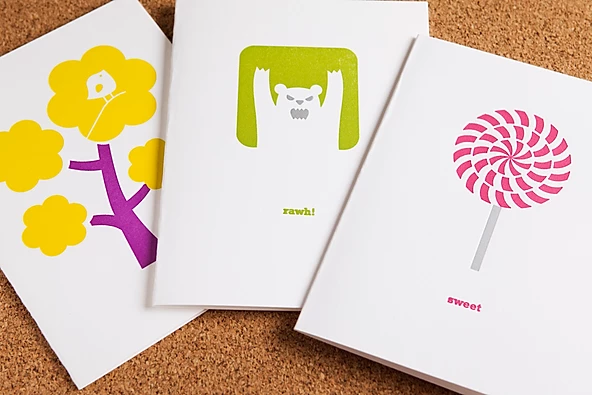 Letterpress Cards + Announcements