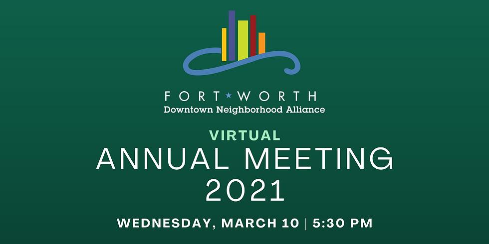 FWDNA Virtual Annual Meeting 2021