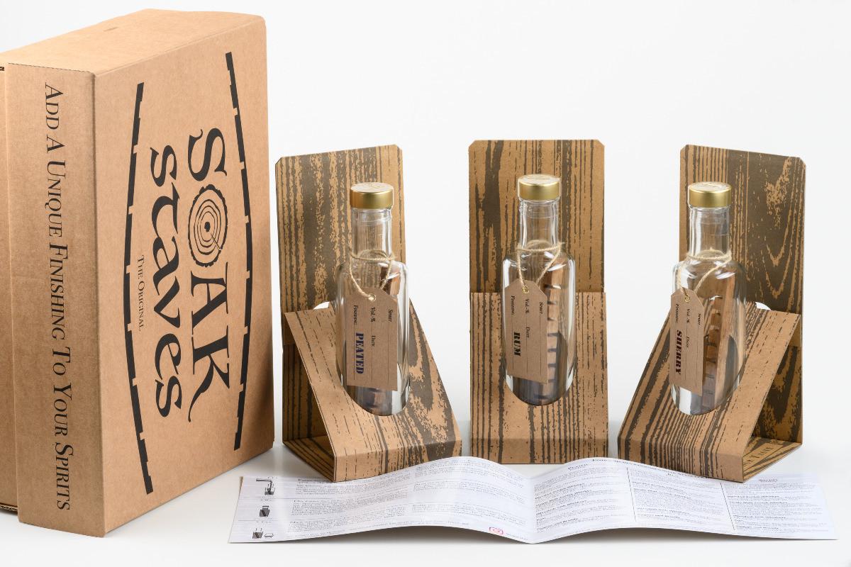 Soak Staves Box für ein individuelles Finishing Ihrer Spirituosen