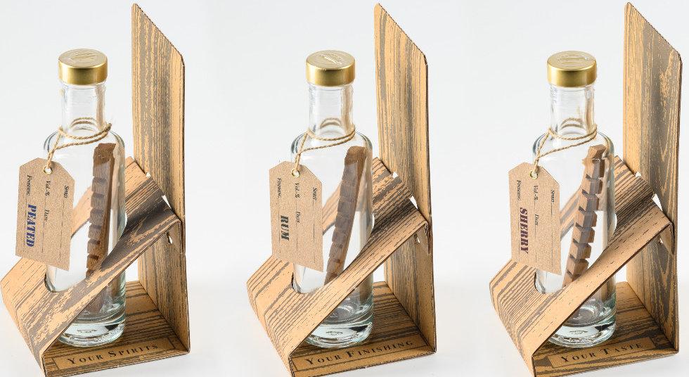 Whisky Rum Finishing Box Geschenkidee für Whisky und Rum Trinker