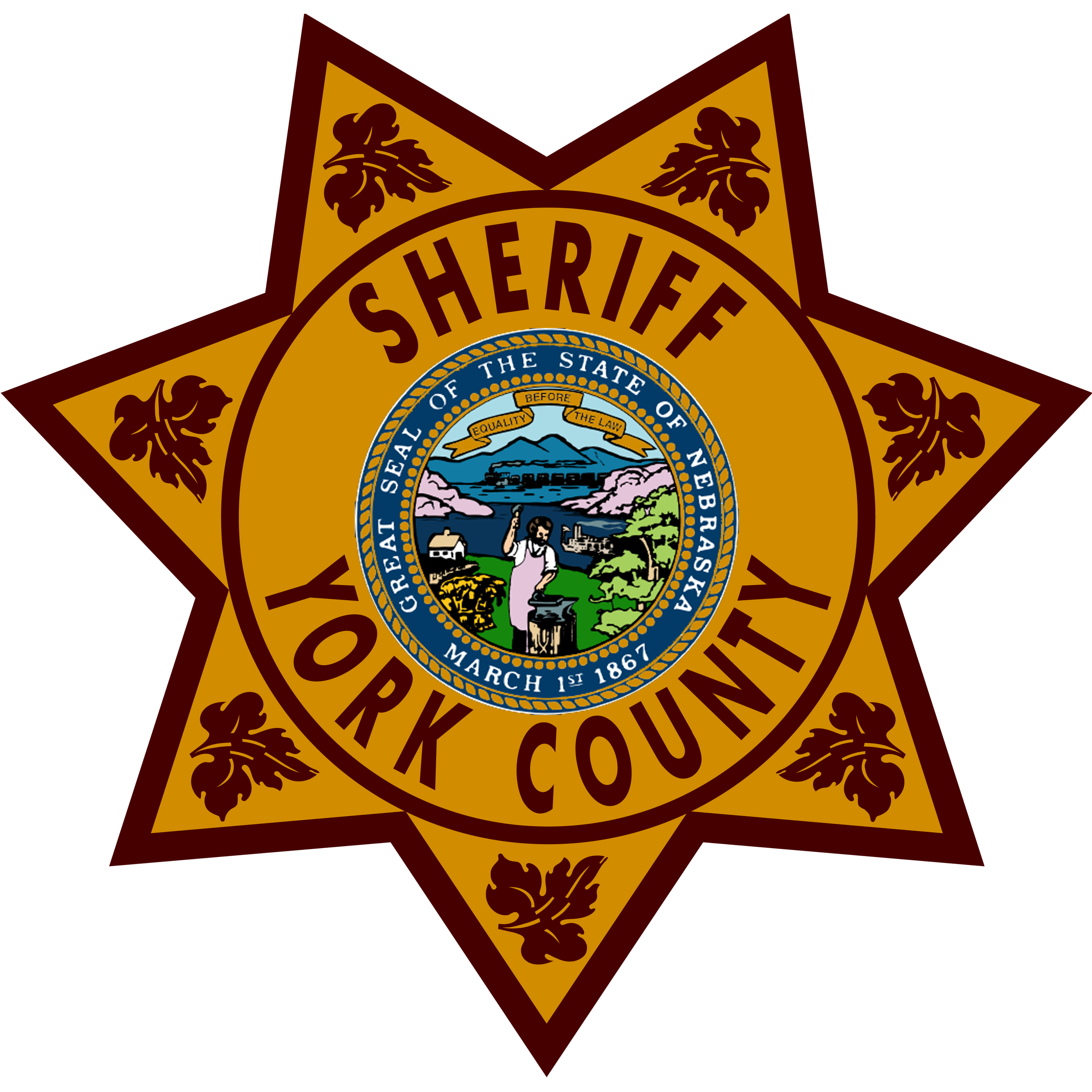 York County Sheriff decals