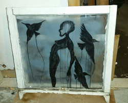 This piece will be at Red Door Art Studio tomorrow for Second Saturday.jpg Come say hello and see wh