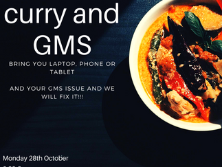 GMS and a Curry Help Night