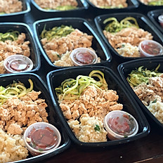 Ground Turkey w/ Zucchini Noodles