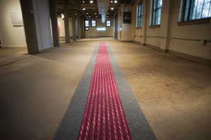 Thorne's Polarity(installation view, Collar Works, Troy, NY