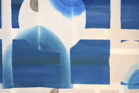 Blue Window(detail)