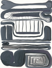sm 584, 11 x 8.5 inches, gouache on paper
