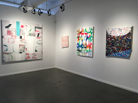 MacDowell Now: Recent Abstract Painting, curated by Mark Wethli, Curator Gallery, NYC, NY