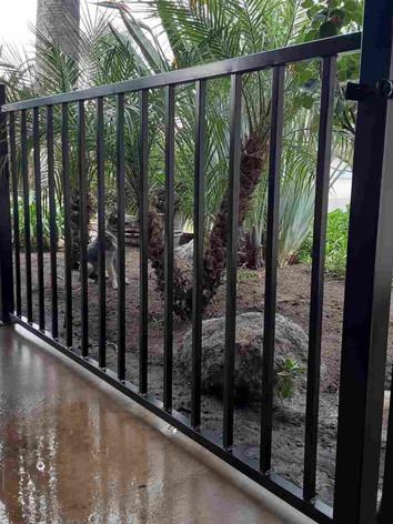 Wrought Iron Patio Enclosure