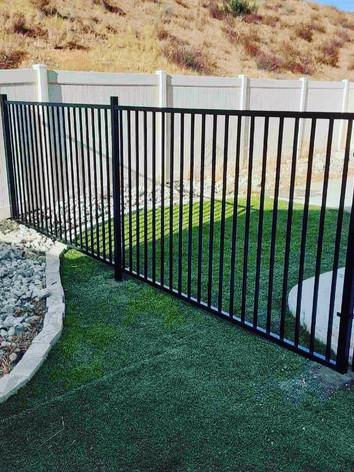 Wrought Iron Fence/Gate