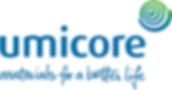 UMICORE Master Brand Logo with a handwri