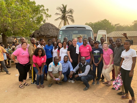 Hello from Nyitawuta Village in rural Ghana! - Day 2 - January 4, 2020