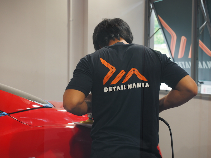 Detail Mania Behind the scene staff