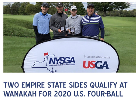 OCC Represented well at 2020 US 4 Ball Qualifier