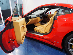 Detail Mania Interior Detailing Cleaning Services Red Car