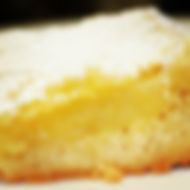 Luscious lemon bars with scratch-made sh