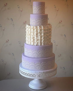 Lovely lavender and lace!  Come see this