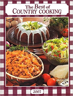 The Best of Country Cooking 2007 - Taste of Home