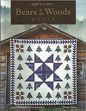 Bears in the Woods Quilt - Sue Bouchard