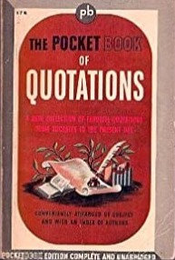 The Pocket Book of Quotations - Henry Davidoff