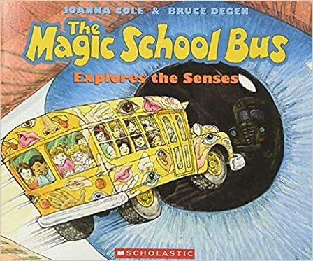 The Magic School Bus Explores The Senses - Joanna Cole