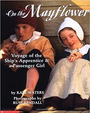 On The Mayflower - Kate Waters