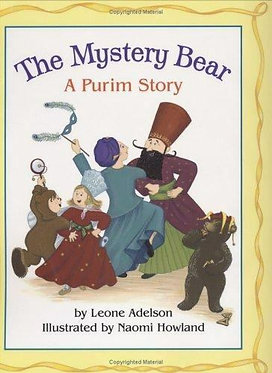 The Mystery Bear A Purim Story - Leone Adelson