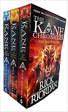 The Kane Chronicles Collection - Rick Riordan (3 Books Set)