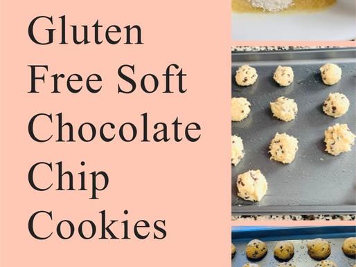 Gluten Free Soft Chocolate Chip Cookies