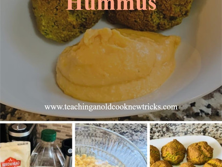 Gluten Free Falafel And Hummus