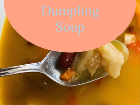 Gluten Free Red Bean Dumpling Soup