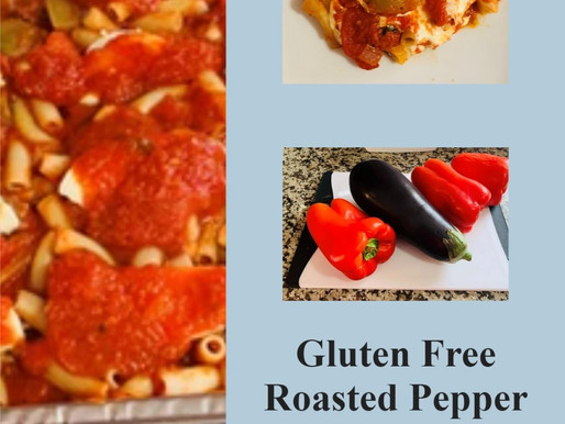 Gluten Free Roasted Pepper And Eggplant Pasta