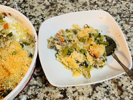 Gluten Free Veggies and Rice Casserole
