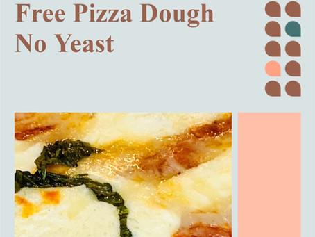 Homemade Gluten Free Pizza Dough No Yeast