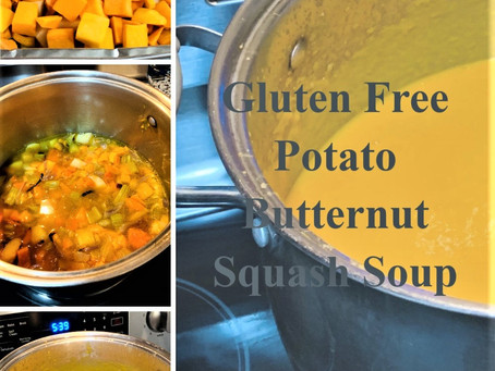 Gluten Free Potato Butternut Squash Soup
