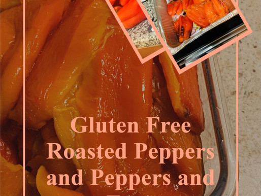 Gluten Free Roasted Peppers and Peppers and Eggs